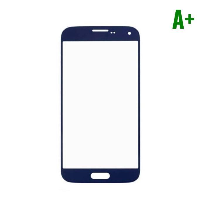 Samsung Galaxy S5 i9600 A+ verre avant Qualité - Bleu