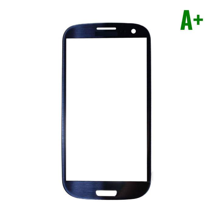 Samsung Galaxy S3 i9300 A + Quality Front Glass - Blue