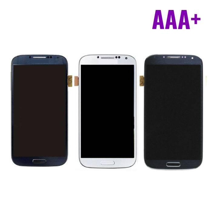 écran Samsung i9500 Galaxy S4 (écran tactile + AMOLED + Parts) AAA+ Qualité - Bleu / Noir / Blanc