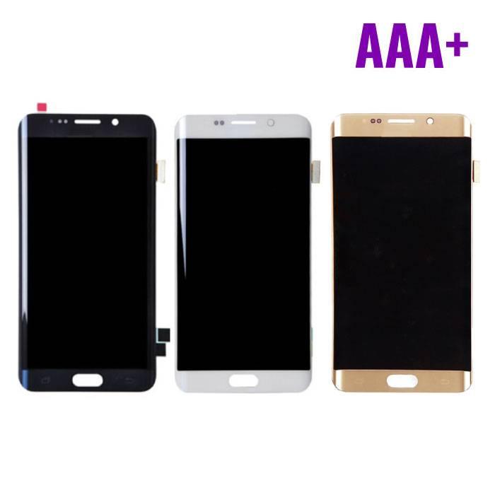 Écran Samsung Galaxy S6 Edge (écran tactile + AMOLED + pièces) Qualité AAA + - Noir / Blanc / Or / Bleu