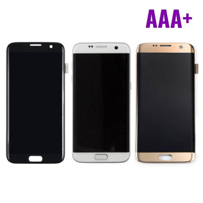 Affichage Samsung Galaxy S7 bord (LCD + écran tactile + pièces) AAA+ Qualité - Noir / Blanc / Or