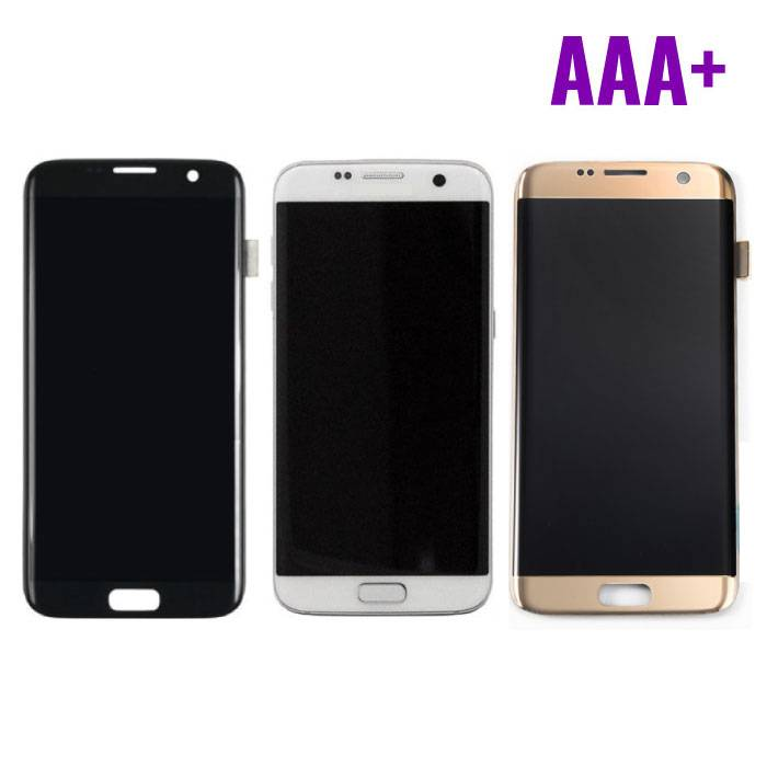 Samsung Galaxy S7 Edge Display (AMOLED + Touch Screen + Parts) AAA + Quality - Black / White / Gold