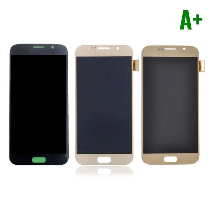Samsung Galaxy S6 Scherm (Touchscreen + AMOLED + Onderdelen) A+ Kwaliteit - Zwart/Wit/Goud