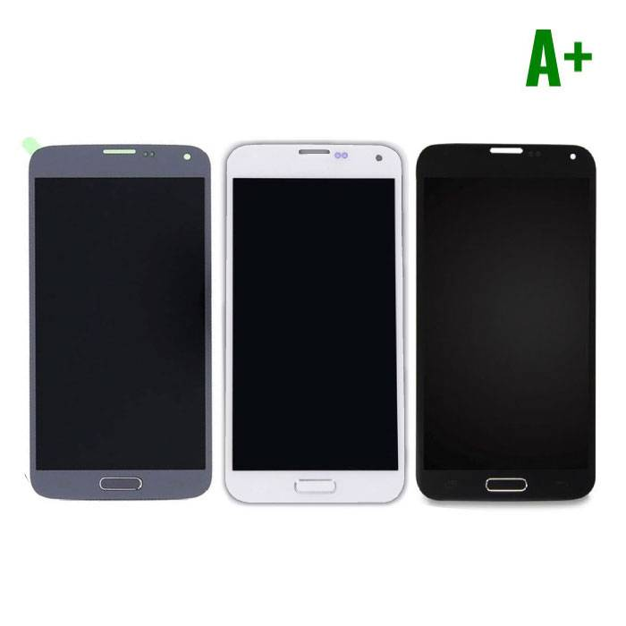 Samsung Galaxy S5 I9600 Screen (AMOLED + Touch Screen + Parts) A + Quality - Blue / Black / White
