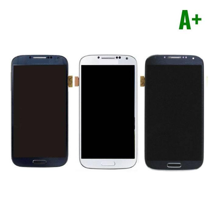 Samsung Galaxy S4 I9500 Scherm (Touchscreen + LCD + Onderdelen) A+ Kwaliteit - Blauw/Zwart/Wit