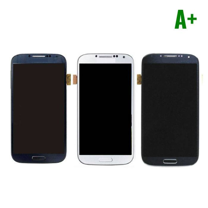 Samsung I9500 Galaxy S4 screen (Touchscreen + LCD + Parts) A + Quality - Blue / Black / White