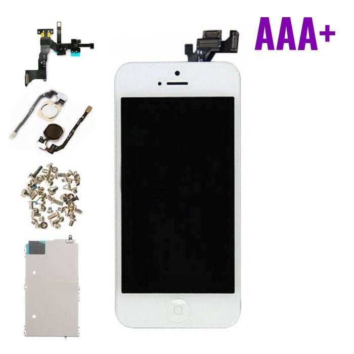 iPhone 5 écran prémonté (écran tactile + LCD + Parts) AAA+ Qualité - Blanc