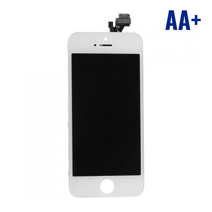 iPhone 5 Scherm (Touchscreen + LCD + Onderdelen) AA+ Kwaliteit - Wit
