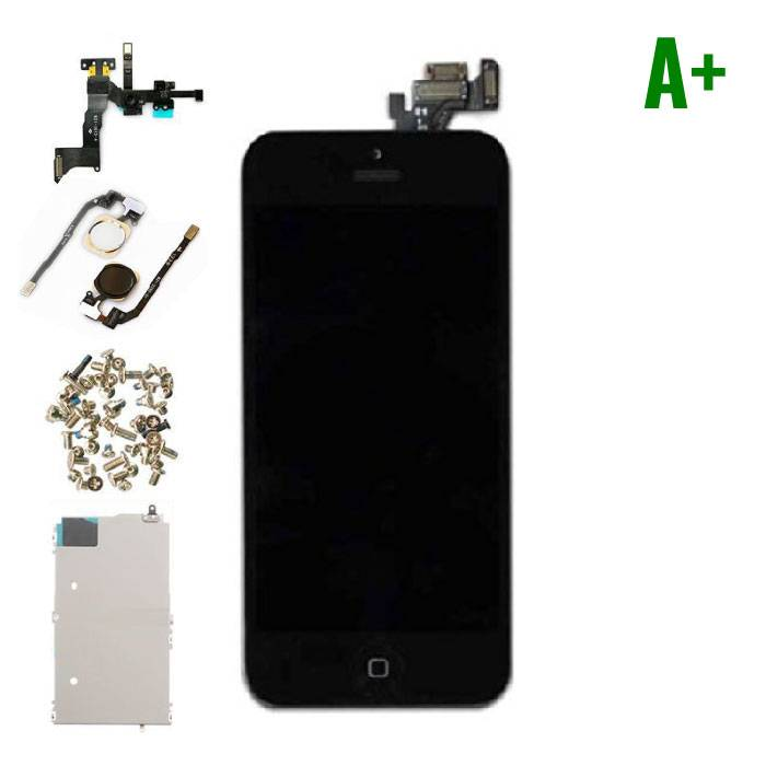 iPhone 5 Pre-mounted screen (Touchscreen + LCD + Parts) A + Quality - Black