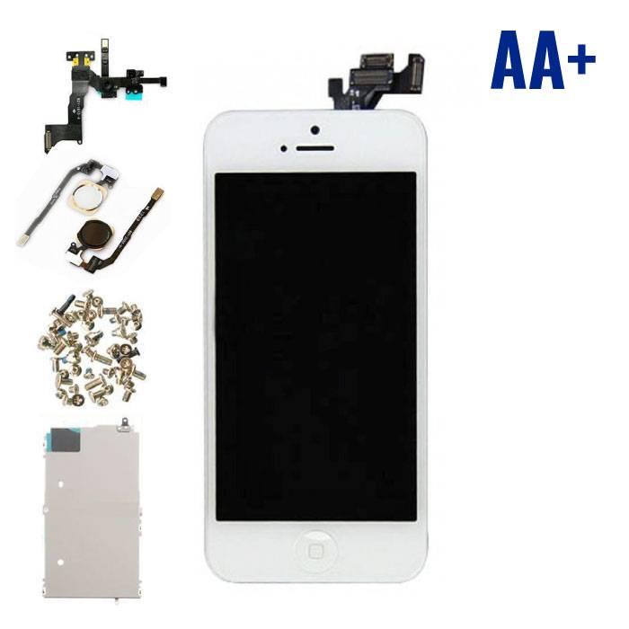 iPhone 5 écran prémonté (écran tactile + LCD + Pièces) AA+ Qualité - Blanc
