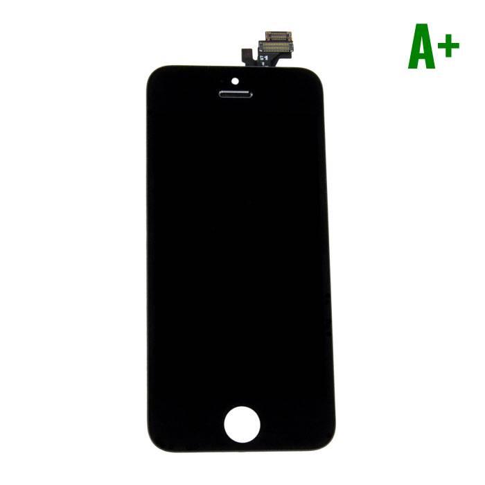 iPhone 5 Scherm (Touchscreen + LCD + Onderdelen) A+ Kwaliteit - Zwart