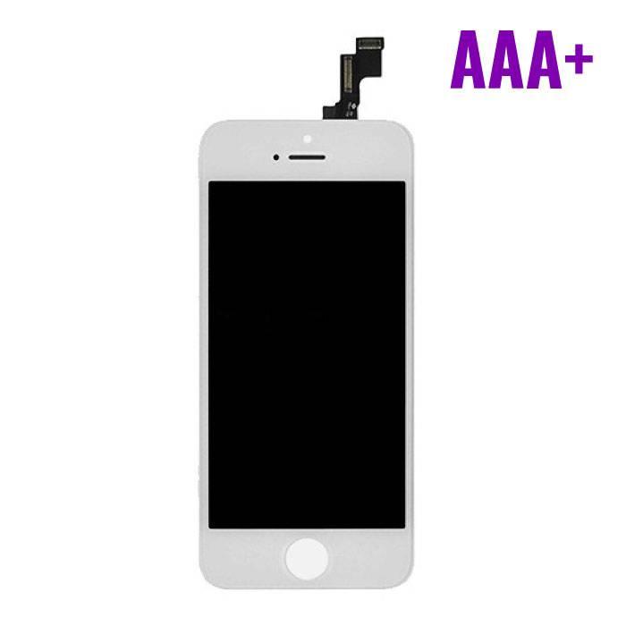 iPhone 5S Scherm (Touchscreen + LCD + Onderdelen) AAA+ Kwaliteit - Wit