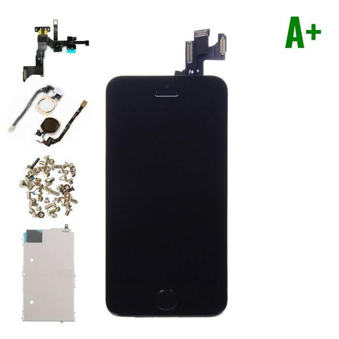 iPhone 5s affichage monté àl'avant (LCD + écran tactile + pièces) A+ Qualité - Noir