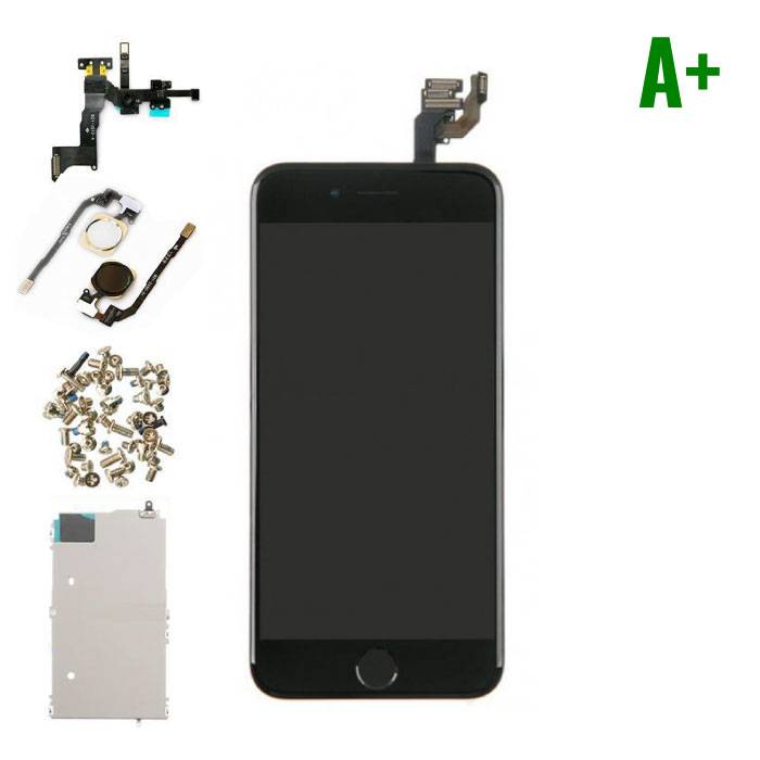 """iPhone 6 4.7 """"Front Mounted Display (LCD + Touch Screen + Parts) A + Quality - Black"""