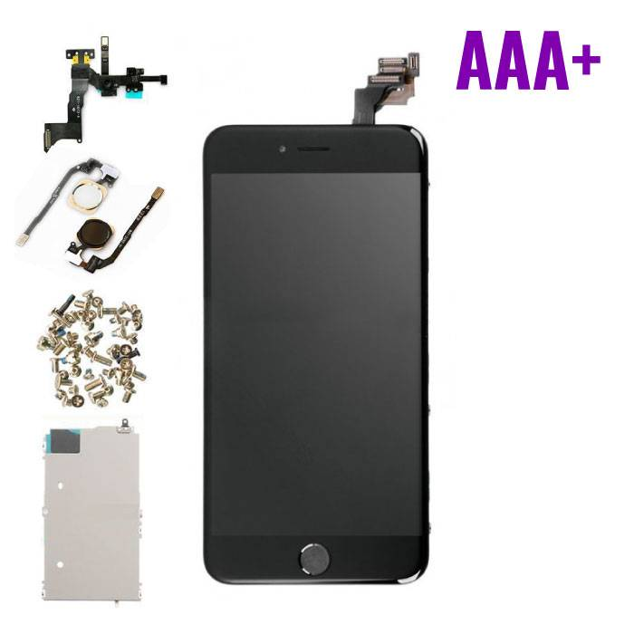 iPhone 6 Plus Pre-mounted screen (Touchscreen + LCD + Parts) AAA + Quality - Black