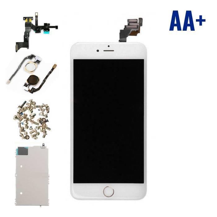 iPhone 6 Plus écran prémonté (écran tactile + LCD + Pièces) AA+ Qualité - Blanc