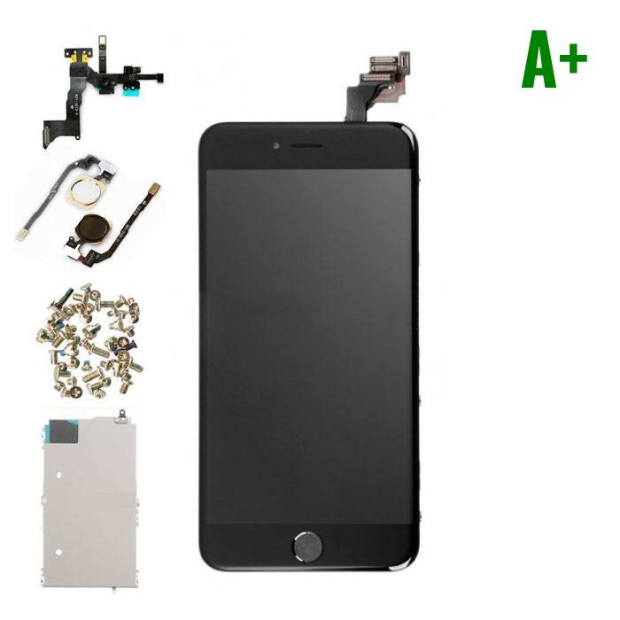 iPhone 6 Plus Pre-mounted screen (Touchscreen + LCD + Parts) A + Quality - Black