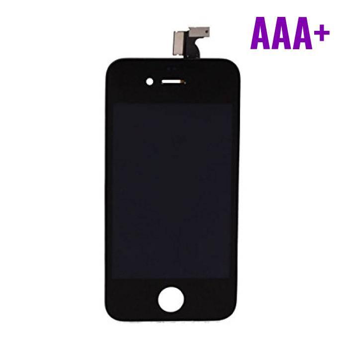iPhone 4 Scherm (Touchscreen + LCD + Onderdelen) AAA+ Kwaliteit - Zwart