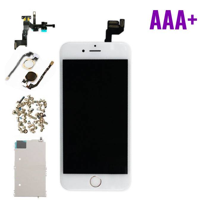 iPhone 6S 4.7 « affichage monté àl'avant (écran LCD + tactile + Pièces) AAA+ Qualité - Blanc