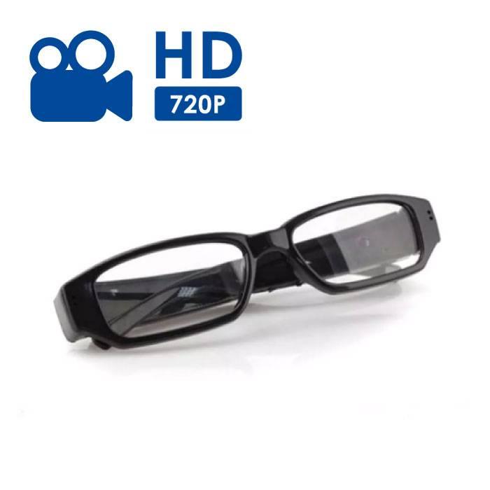 Spycam Spy Lunettes Lunettes caméra cachée - 720p