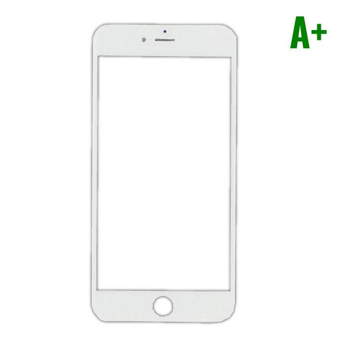 iPhone Plus 8 A + Quality Front Glass - White