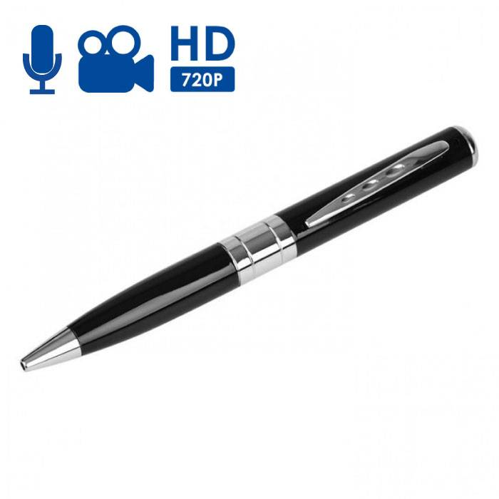 Spycam Pen Hidden Camera With Microphone - HD