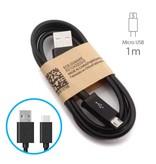 Stuff Certified® USB 2.0 - Micro-USB de charge Chargeur Cable Cable 1 metre de données Android Noir