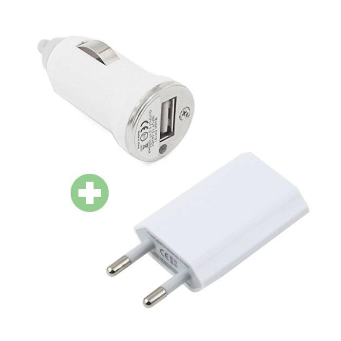 2 en 1 chargeur Branchez Chargeur / Chargeur et chargeur de voiture / Carcharger