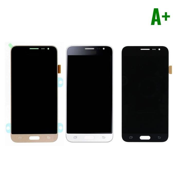Samsung Galaxy 2016 Affichage J3 (écran LCD tactile + + pièces) A+ Qualité - Noir / Blanc / Or
