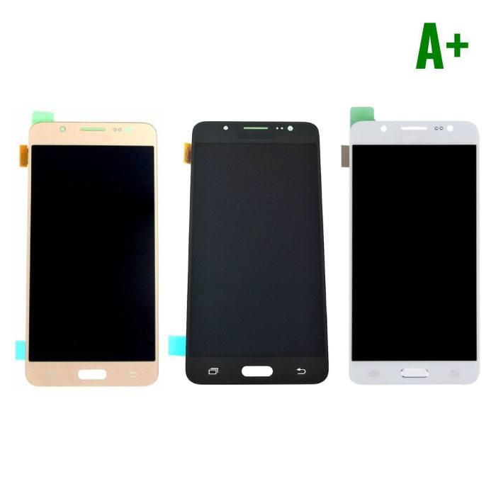 Samsung Galaxy J5 2016 Scherm (Touchscreen + LCD + Onderdelen) A+ Kwaliteit - Zwart/Wit/Goud