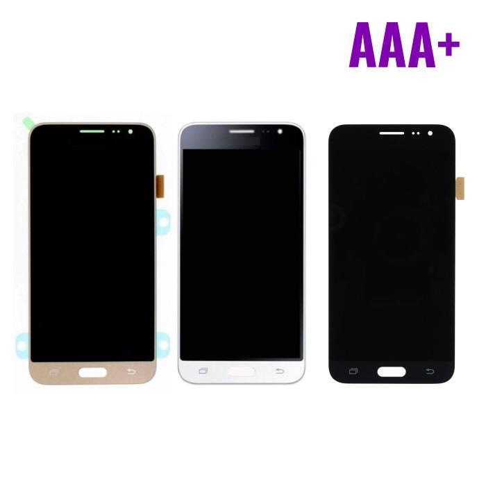 Samsung Galaxy 2016 Affichage J3 (écran LCD + tactile + Pièces) AAA+ Qualité - Noir / Blanc / Or