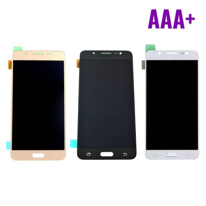 Samsung Galaxy J5 2016 Display (écran AMOLED + tactile + Pièces) AAA+ Qualité - Noir / Blanc / Or