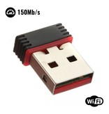 Stuff Certified® Mini WiFi USB Dongle Wireless Network 150Mb / s 802.11N Adapter Adapter