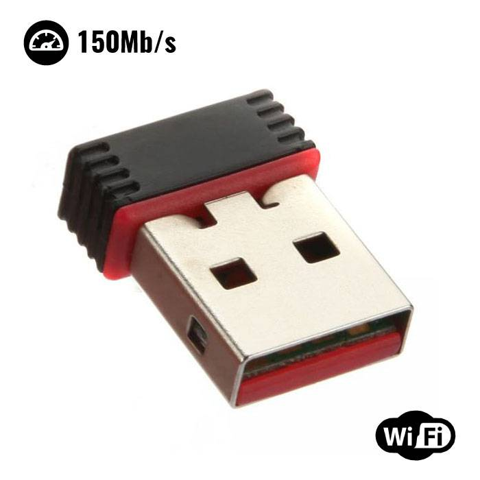 Mini USB WiFi Dongle réseau sans fil 150Mo / s Adaptateur 802.11N