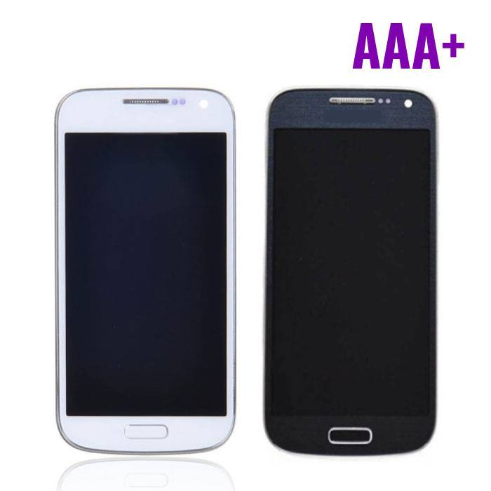 Samsung Galaxy S4 Mini Screen (AMOLED + Touch Screen + Parts) AAA + Quality - Blue / White