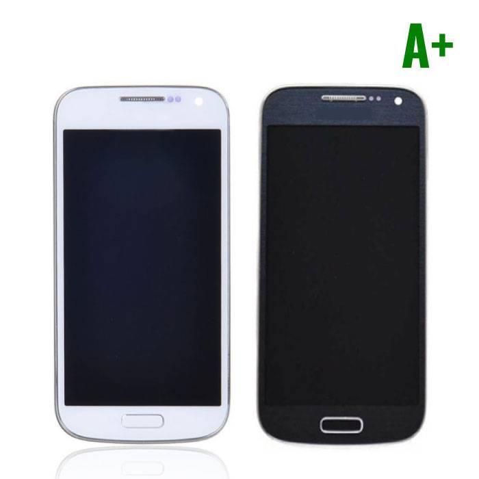 Samsung Galaxy S4 Mini écran (LCD + écran tactile + pièces) A+ Qualité - Bleu / Blanc