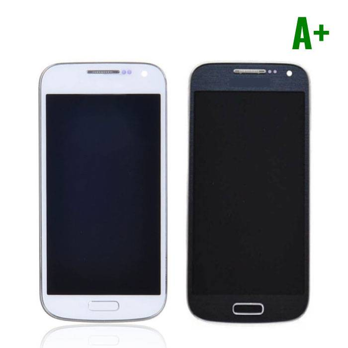 Samsung Galaxy S4 Mini Screen (AMOLED + Touch Screen + Parts) A + Quality - Blue / White
