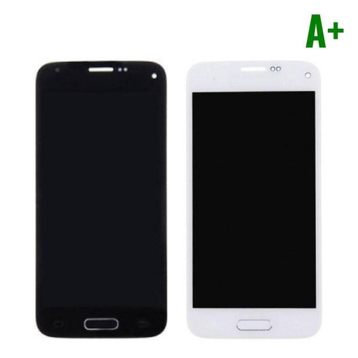 Samsung Galaxy S5 Mini Scherm (Touchscreen + LCD + Onderdelen) A+ Kwaliteit - Blauw/Wit