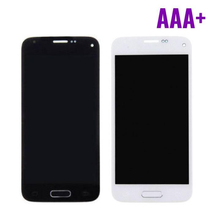 Samsung Galaxy S5 Mini Scherm (Touchscreen + AMOLED + Onderdelen) AAA+ Kwaliteit - Blauw/Wit