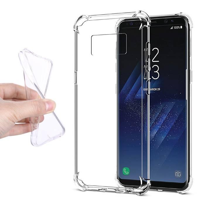 Samsung Galaxy S8 Transparent Silicone Case Cover TPU Case