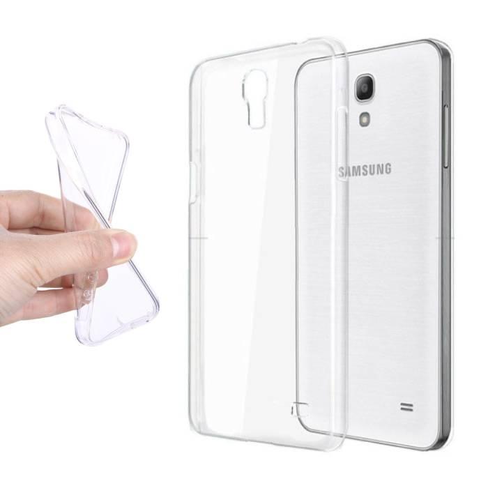 Coque en TPU transparente en silicone pour Samsung Galaxy S4