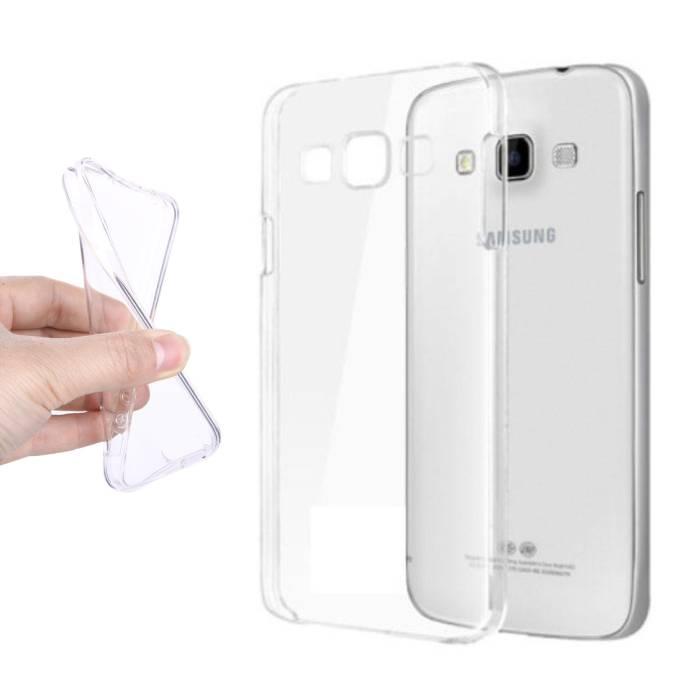 Transparent en silicone transparent de couverture de cas TPU Samsung Galaxy A9 2016
