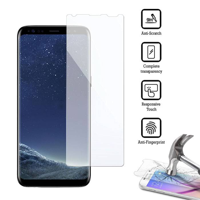 Screen Protector Samsung Galaxy S8 Tempered Glass Film Extra Small