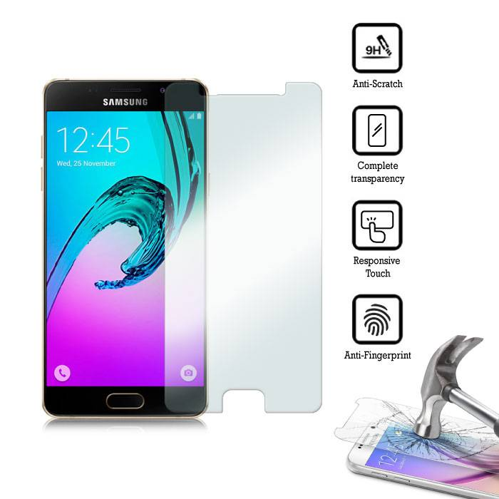 5-Pack Screen Protector Samsung Galaxy A3 2016 Tempered Glass Film