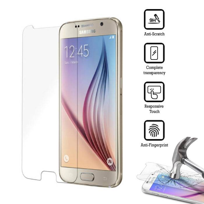 5-Pack Screen Protector Samsung Galaxy S6 Tempered Glass Film