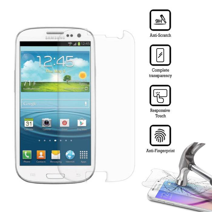 5-Pack Screen Protector Samsung Galaxy S3 i9300 Tempered Glass Film
