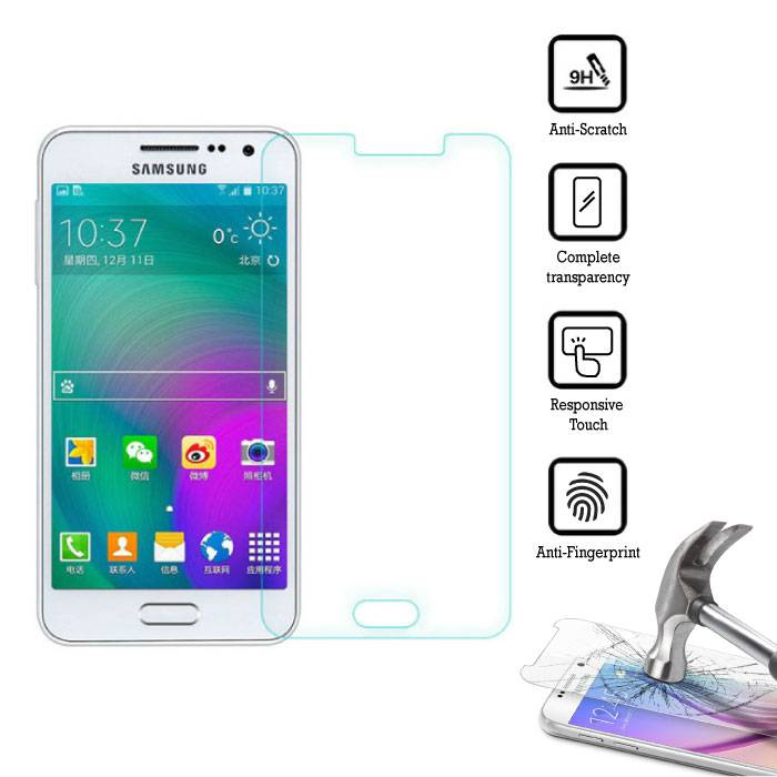 3-Pack Screen Protector Samsung Galaxy J5 Prime 2016 Tempered Glass Film