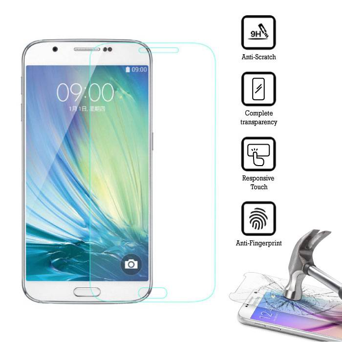 2-Pack Screen Protector Samsung Galaxy A8 2016 Tempered Glass Film