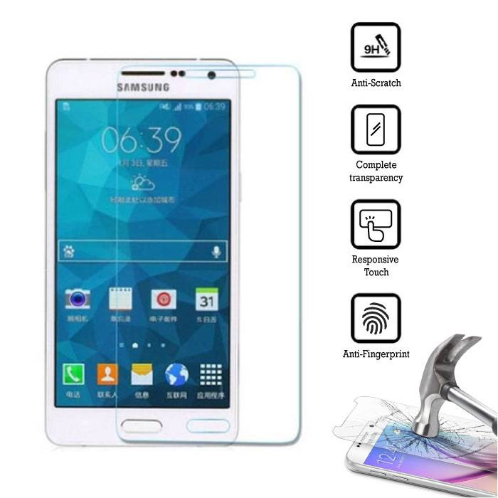 2-Pack Screen Protector Samsung Galaxy A7 2016 Tempered Glass Film