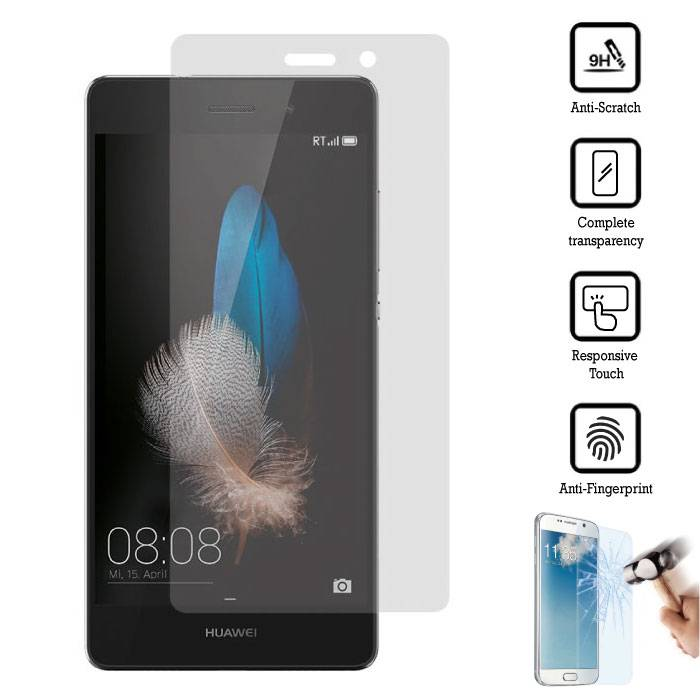 3-Pack Screen Protector Huawei P8 Tempered Glass Film